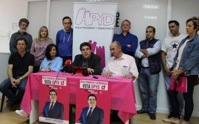 """Ávila, Progreso y Democracia UPYD cierra la campaña con confianza en un proyecto """"tangible"""""""